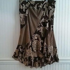Bandolino Layered Skirt